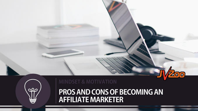 pros and cons of becoming an affiliate marketer