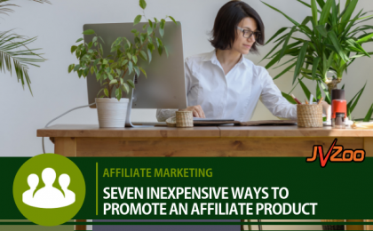 inexpensive ways to promote an affiliate product