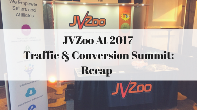 JVZoo at 2017 Traffic and Conversion Summit