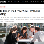 How to Reach the 5-Year Mark Without Imploding