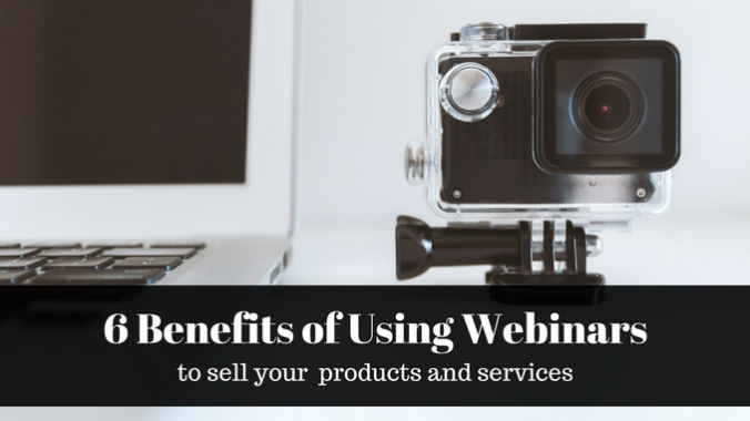Six Benefits of using webinars