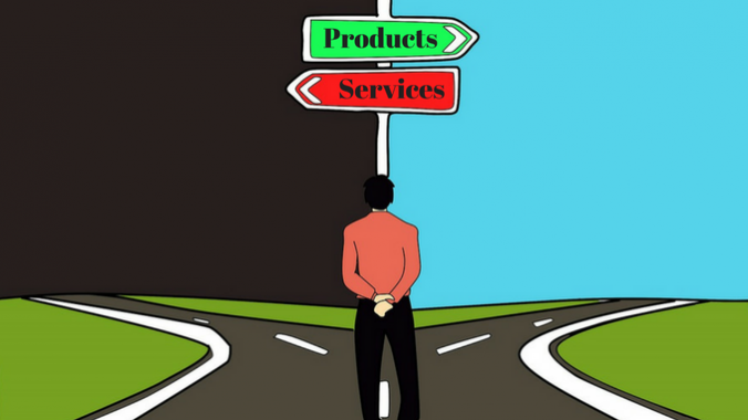 Should You Promote Products or Services-