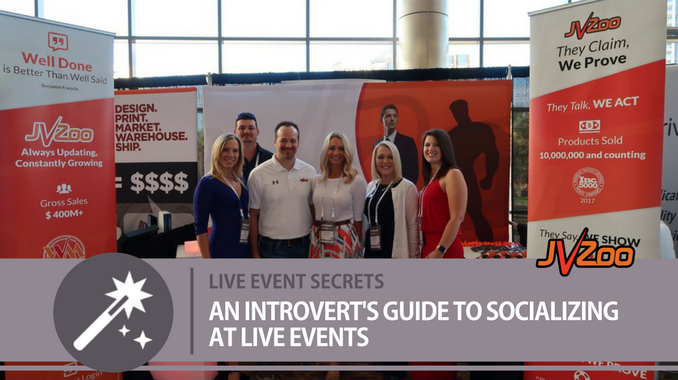 AN INTROVERT'S GUIDE TO SOCIALIZING AT LIVE EVENTS