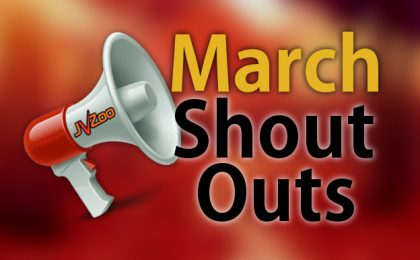 JVZoo March Shout-Outs
