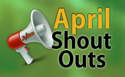 JVZoo April Shout-Outs