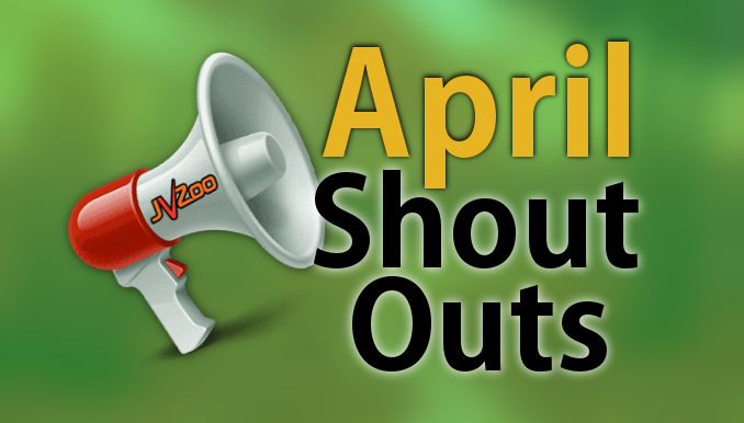 JVZoo April Shout-Outs