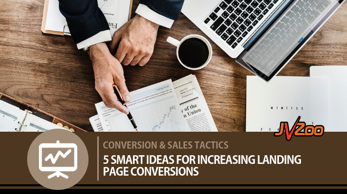 increasing landing page conversions
