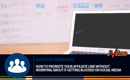 promote your affiliate link