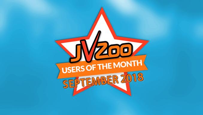 JVZoo September Top users