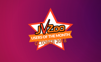 jvzoo users of the month october 2018